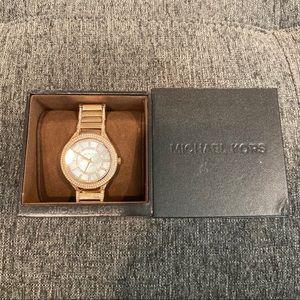 Michale kors rose gold watch